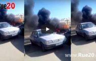 فيديو | حريق مهول يحول سيارة بأكادير إلى رماد !