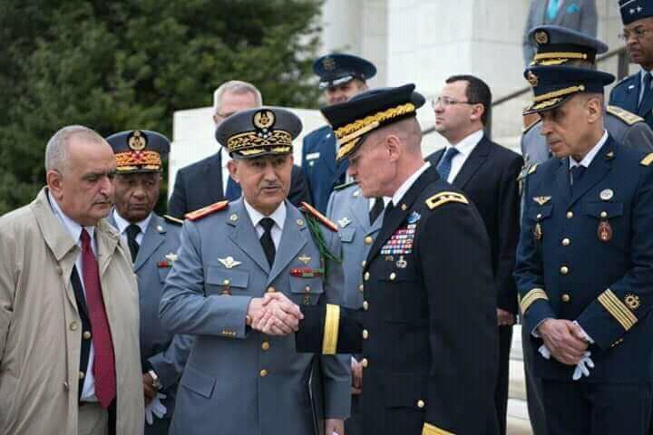 صور | الجنرال الوراق يلتقي كبار مسؤولي البانتغون بواشنطن استعداداً لانطلاق مناورات 'الأسد الإفريقي'