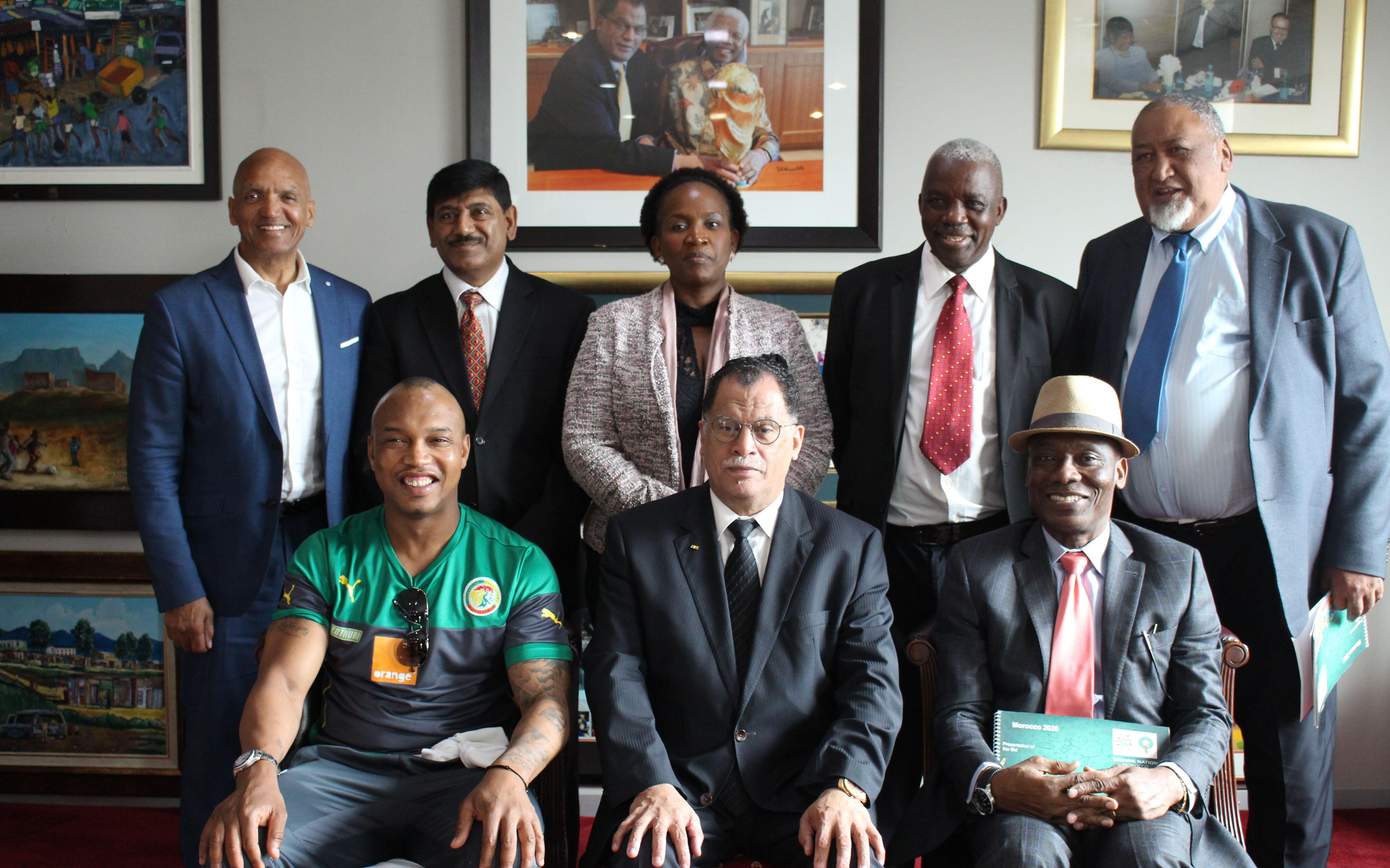رسمياً/جنوب إفريقيا تعلن دعمها لـ'موروكو 2026′ و تؤكد تجندها للضغط على دول إفريقية للتصويت لصالح المغرب