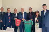 الإتحاد السلوفيني لكرة القدم يُشيدُ بالترشيح المغربي لاستضافة مونديال 2026 في إستقباله لوفد مغربي رفيع