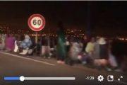 فيديو | مواطنون يبيتون في العراء ليلاً و في صفوف طويلة لدخول سبتة باكراً !