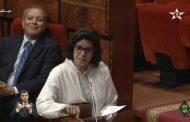 كاتبة الدولة 'فاطنة الكيحل' تسقط في البرلمان و تطلب تأجيل أسئلة البرلمانيين !