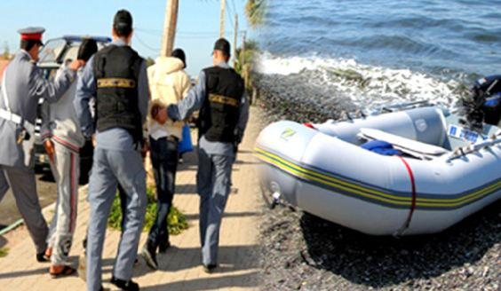 انتعاش 'الحريك' بشواطئ العرائش و مافيا تهريب البشر تشحن المهاجرين نهاراً جهاراً !