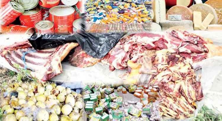 حجز 20 طنا من المواد الفاسدة بجهة الشرق خلال شهر رمضان