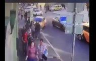 فيديو مروع. لحظة عملية الدهس التي حدثت في موسكو اليوم السبت