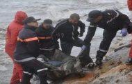 شاطئ تزنيت يلفظ جثة مهاجر سري قضى نحبه غرقاً !