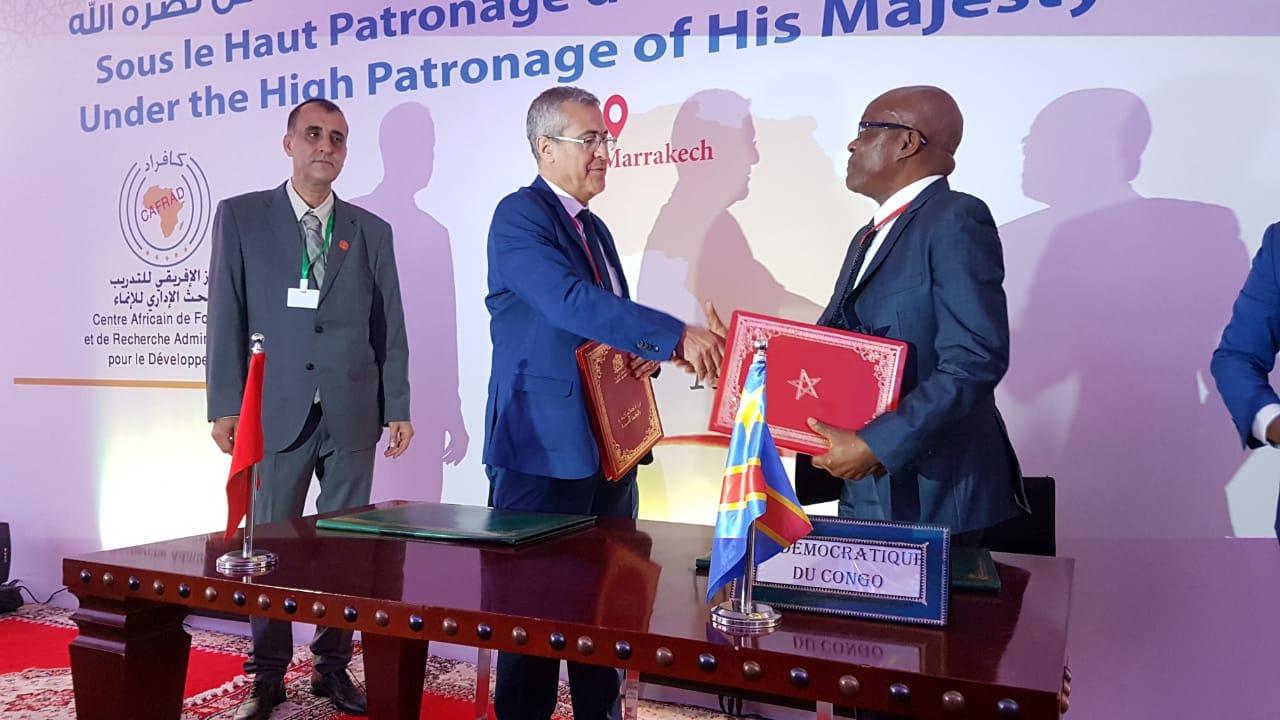منتدى الوظيفة العمومية الافريقي بمراكش يدعو لحكامة عمومية جيدة ومسؤولة