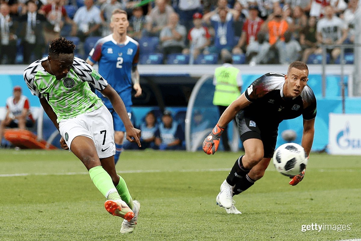 نيجيريا تفوز على إيسلندا وتشعل صراع التأهل للدور الثاني مع الأرجنتين