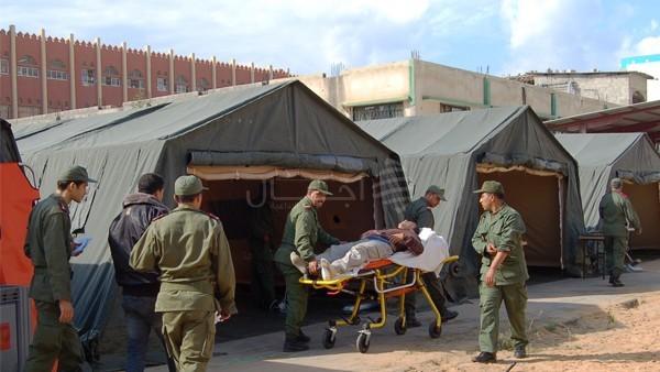 المغرب يبعث بمساعدات غدائية لغينيا بيساو ويقيم مستشفى ميداني بها