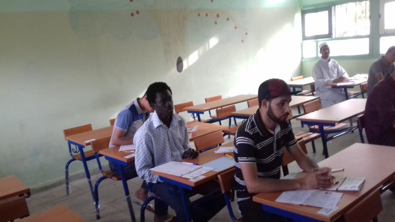 17 مهاجراً إفريقياً يجتازون امتحانات الباكلوريا بوجدة