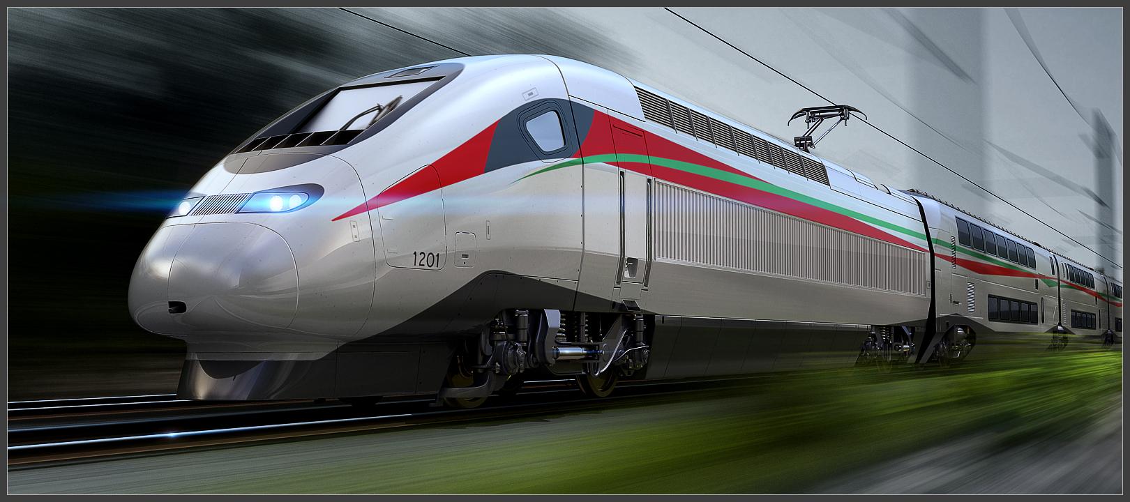 الملك محمد السادس يُطلق اسم 'البُراق' على قطار التيجيفي المغربي