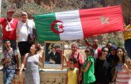 جزائريون ومغاربة يتظاهرون في 'زوج بغال' للمطالبة بفتح الحدود !