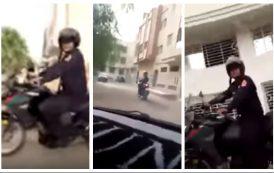 فيديو | مغاربة مقيمون بالمهجر يطاردون بوليسياً وسط الشارع !