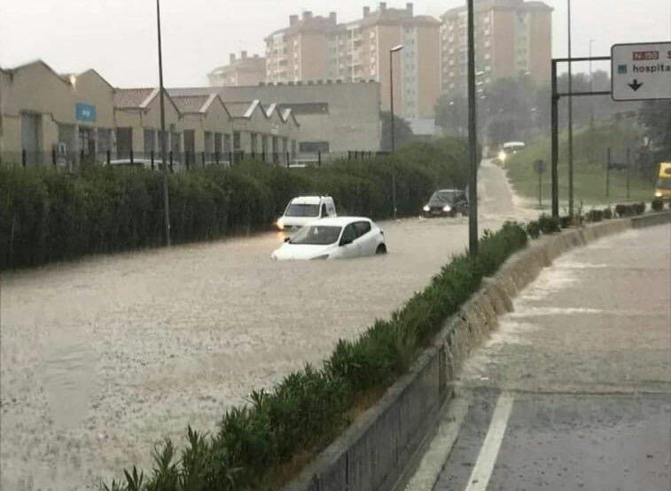 فيديو مرعب/مصرع 23 بكاتلونيا جراء موجة الحرارة المفرطة والفيضانات الجارفة