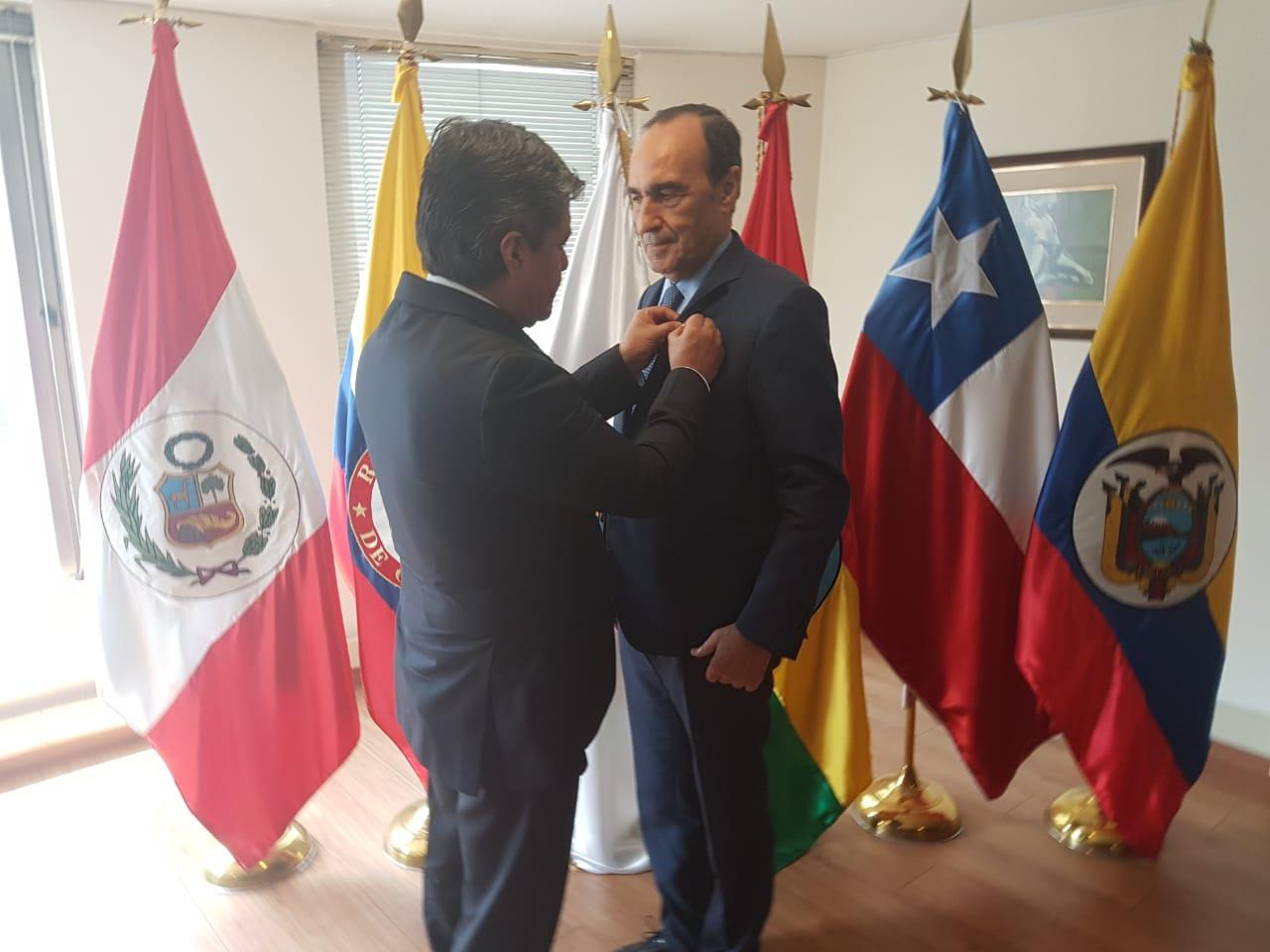 برلمان دول الأنديز يخصص بكولومبيا جلسة رسمية لتوشيح 'المالكي' واعلان عضوية المغرب كشريك