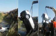 فيديو | سيارة تهوي في واد بفاس و سائقها ينجو من الموت بأعجوبة !