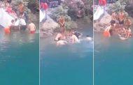 فيديو | لحضة انتشال جثة غريق سقط من مرتفعات أقشور بشفشاون !