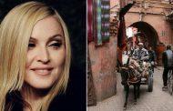 فيديو | نجمة الغناء العالمية 'مادونا' تتجول في المدينة العتيقة لمراكش !