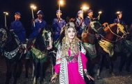 صور/ مادونا تحتفل بعيد ميلاد أسطوري بمراكش بفولكلور و أزياء أمازيغية !