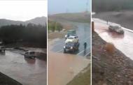 فيديو | ارتفاع منسوب واد يقطع طريقاً بزاكورة و يفضح هشاشة البنية التحتية !