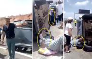 فيديو | حادثة سير مميتة بالطريق السيار و تأخر الإسعاف لأزيد من ساعة و نصف !