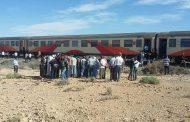 مصرع شخص ستيني دهساً اعترض قطاراً ضواحي گرسيف