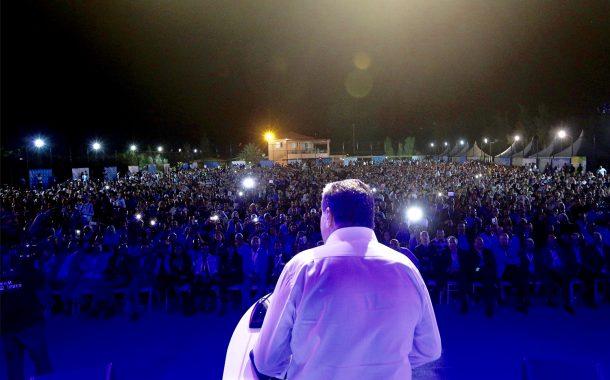 أخنوش يستعرض أمام 4000 من شبيبة الحمامة بمراكش برنامج 'مسار الثقة' لإصلاح الصحة والتعليم وتوفير فرص الشغل