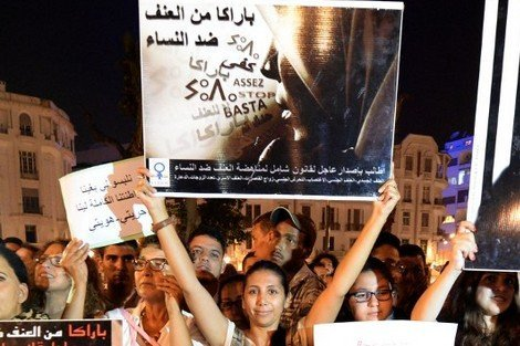 تقرير رسمي : 54 % من المغربيات تعرضن للعنف خلال 3 أشهر !