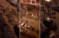 فيديو | عصابات مسلحة تثير الرعب وسط الدار البيضاء !