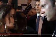 فيديو | مغربية توقف ماكرون لتطلب منه الجنسية الفرنسية !