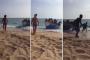فيديو | 'حراكة' مغاربة يفاجئون مصطافين إسبان بعد رسو قاربهم التقليدي على الشاطئ !
