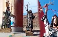 فيديو | تمثال الحرية في نسخته الأمازيغية بتارودانت !