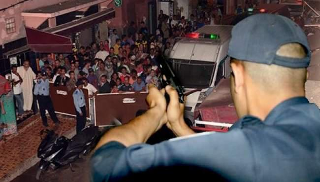 إطلاق الرصاص على مسلح بسيف هاجم الشرطة بأصيلة