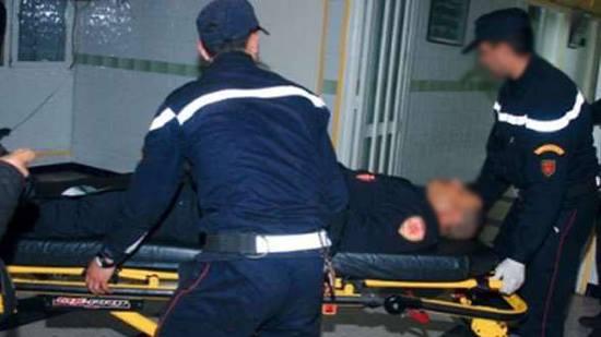 سيارة أجرة تدهس شرطياً بوجدة بسرعة جنونية وترسله للمستعجلات