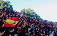 إنفراد/إعتقال مشجع لحسنية أكادير رفع العلم الإسباني وتقديمه للمحاكمة