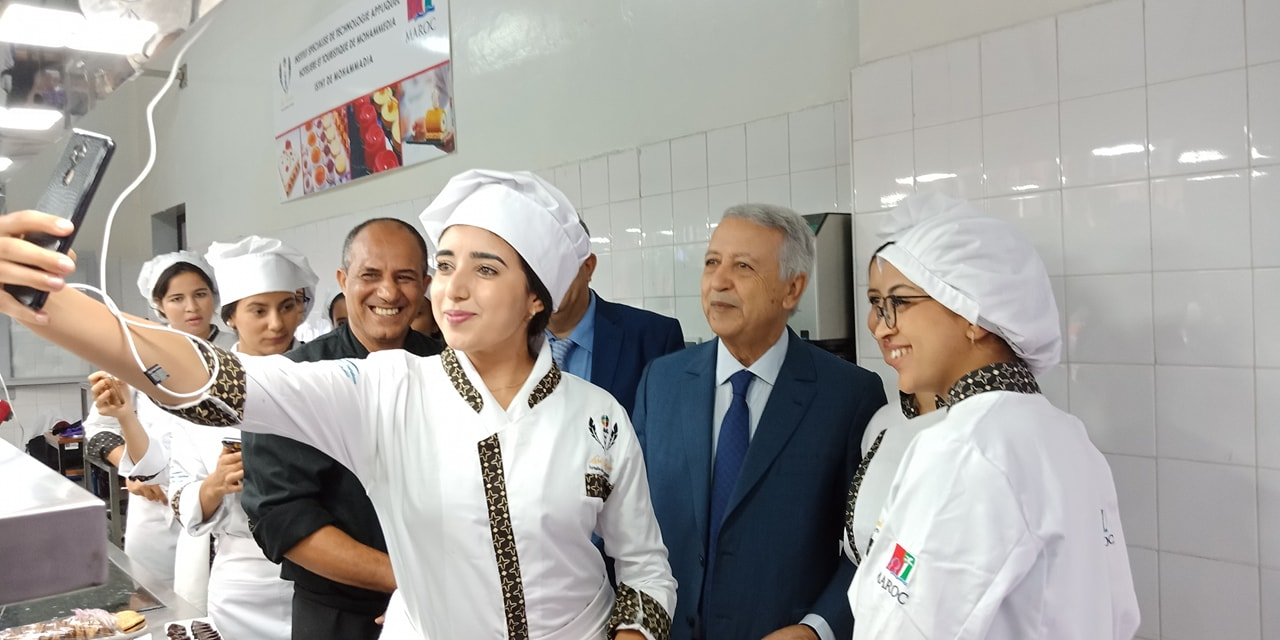 ساجد يتفقد معهد الفندقة و السياحة بالمحمدية و يقف على أشغال توسعته و تطويره
