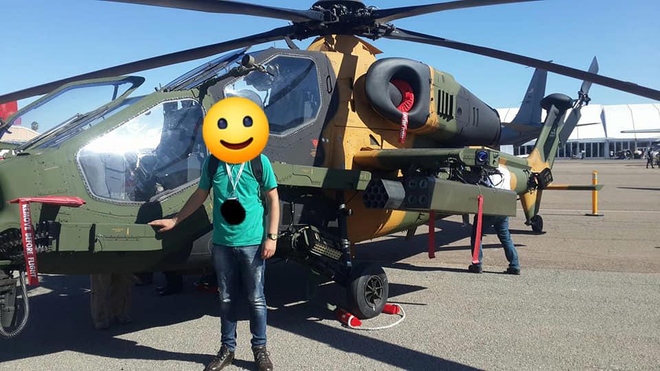 مروحيه ATAK T-129 العسكرية التركية المتطورة تغري القوات الملكية الجوية المغربية Bh