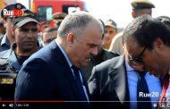 فيديو | جنرال الدرك 'حرمو' يحل بمكان انقلاب قطار بين الرباط و القنيطرة !