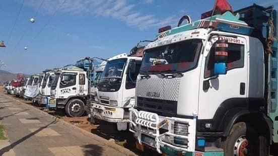 إضراب الشاحنات يعود ليشل أسواق الخضر و عمارة يتفرج !