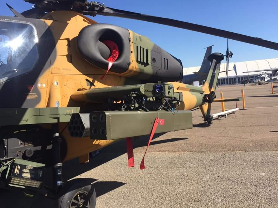 مروحيه ATAK T-129 العسكرية التركية المتطورة تغري القوات الملكية الجوية المغربية S-4