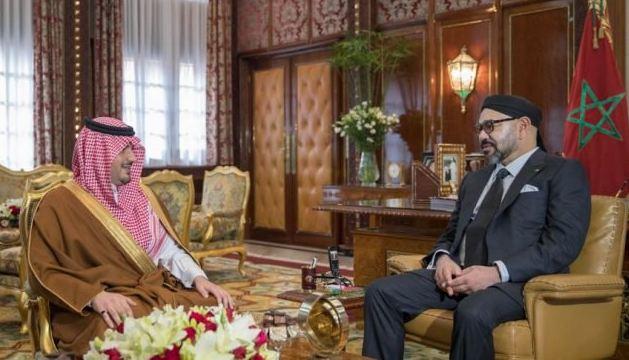 كبار المسؤولين الأمنيين بالسعودية يحلون بالمغرب و يلتقون بالملك محمد السادس !