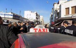 صورة/ اعتداء مسلح يطال سائق تاكسي بوجدة !