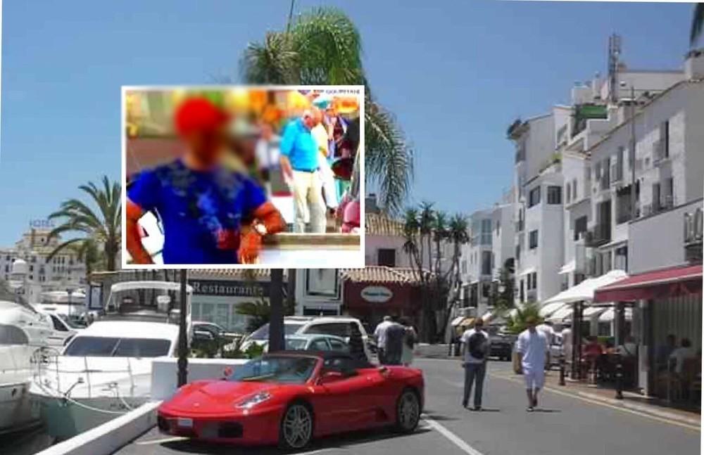 تفجير فيلا بارون مخدرات مغربي بإسبانيا !