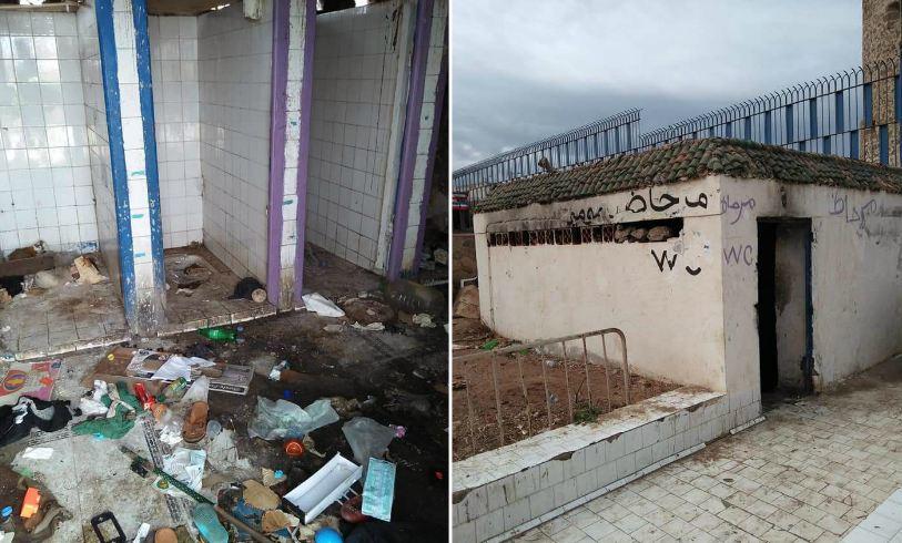 صور.. مراحيض كارثية قرب المآثر التاريخية بآسفي تثير استياء المواطنين و السياح !