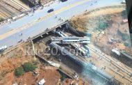 تشغيل السكة الرابطة بين القنيطرة وسلا بشكل كامل بعد إزاحة ماتبقى من حادث بوقنادل