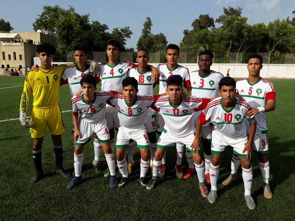 المنتخب المغربي لأقل من 15 عاماً يفوز بكأس شمال أفريقيا