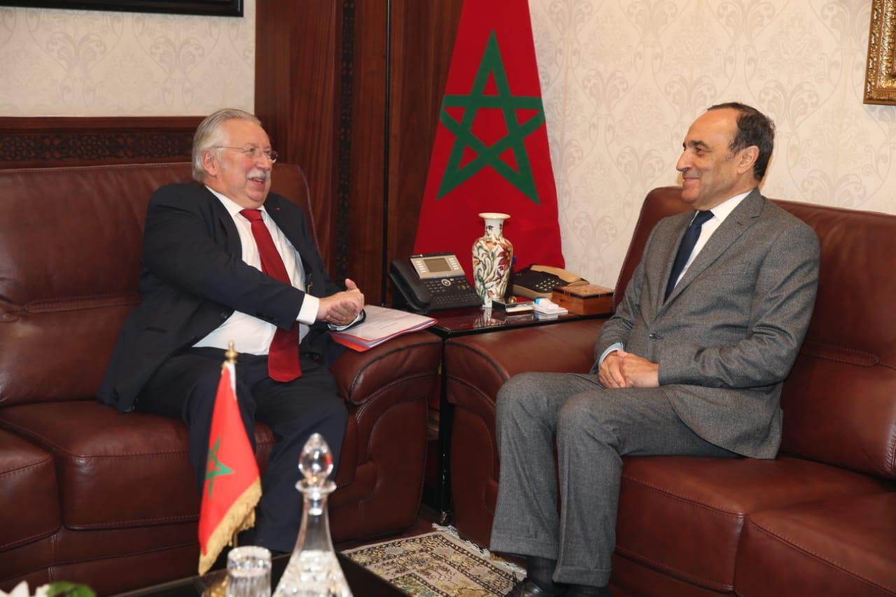 المالكي يتباحث مع وزير الميزانية والوظيفة العمومية لحكومة 'والونيا' البلجيكية