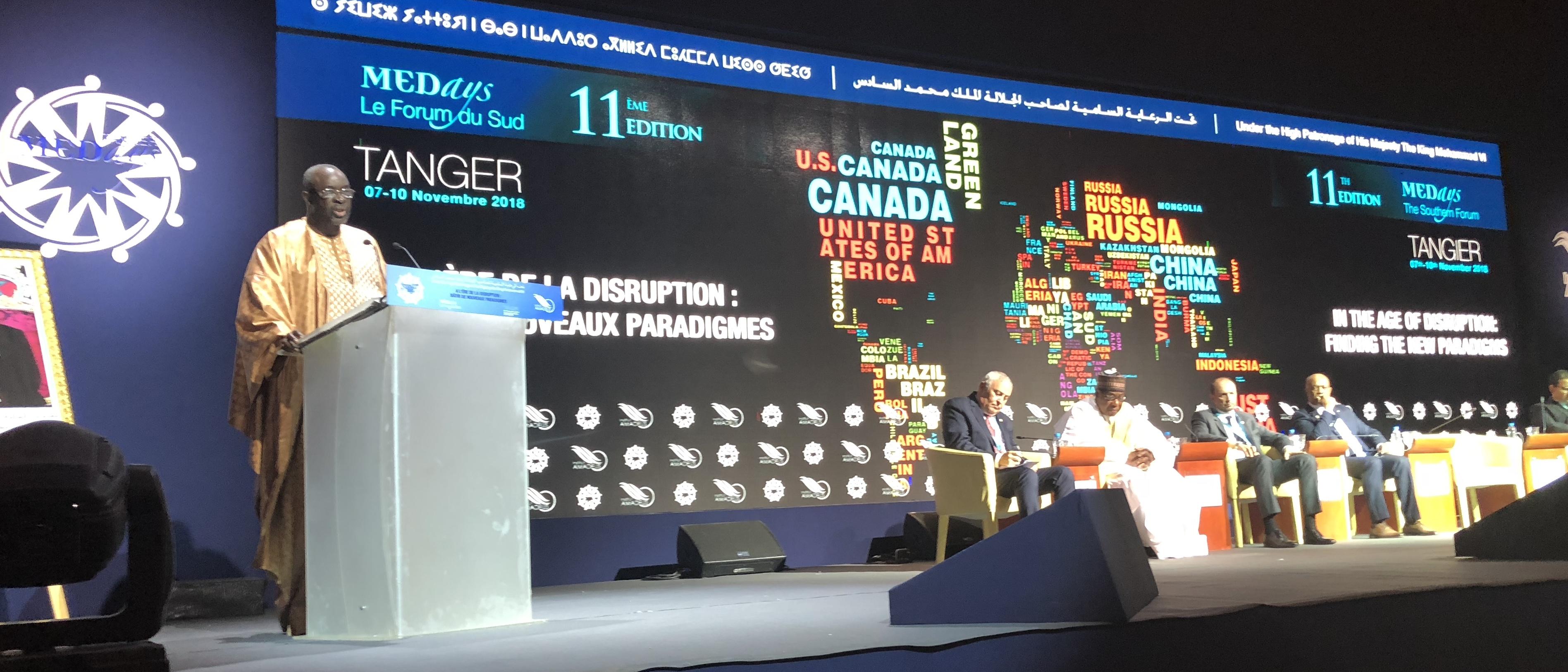 رئيس برلمان 'سيدياو' يعلن دعمه وإلتزامه بعضوية المغرب بتجمع 'دول غرب أفريقيا'