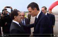 فيديو | العثماني يستقبل رئيس الحكومة الإسباني بالفرنسية !