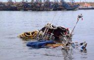 فيديو | غرق سفينة صيد بميناء أكادير !